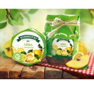 Варенье из айвы с лимоном 320г ЦА