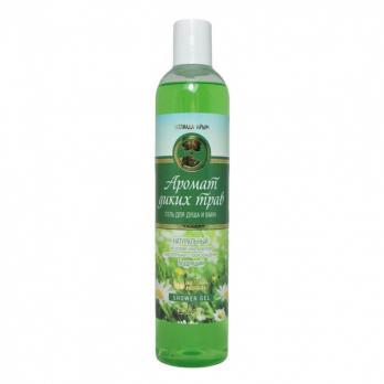 Гель для душа и ванн «Аромат диких трав»  натуральный на основе компонентов растительного происхождения  Бодрящий