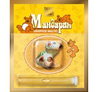"""Сувенирный набор для детей на открытке """"Мандарин"""" 2,4мл.ЦА"""