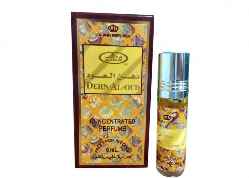 Масляные духи,унисекс, Al Rehab Dehn Al Oud, 6 мл