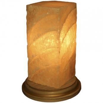 Соляная лампа Лист 2,1 кг Ваше здоровье