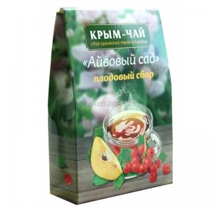 Крым чай плодовый сбор «АЙВОВЫЙ САД» 130гр