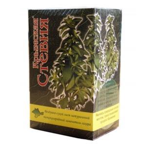 Воздушно-сухой лист стевии (коробка 25 грамм)